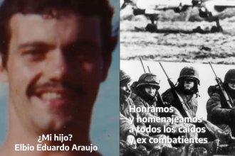 Alberto Fernández homenajeó a los combatientes con un video que cuenta la historia de un soldado entrerriano