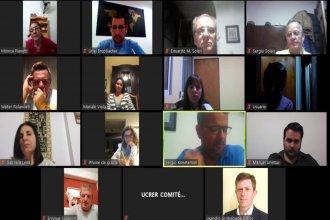 """En reunión virtual, el comité de la UCR decidió enviar a Bordet """"propuestas para enfrentar la pandemia"""""""