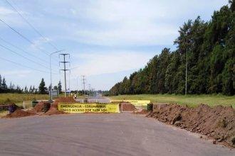Municipio intimó al intendente de Concordia para que habilite uno de los accesos que cerró