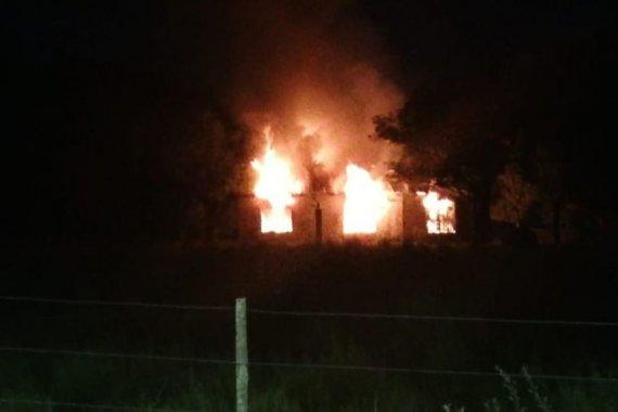 """Investigan origen del extraño incendio que destruyó un club: """"Hasta ahora, no se sabe absolutamente nada"""""""