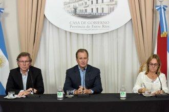 Bordet enviará a Nación una propuesta para la reactivación de sectores en la provincia