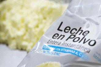 Tres empresas entrerrianas donarán leche en polvo y queso para repartir a familias que más necesiten