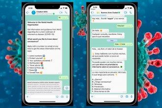 El Chatbot de WhatsApp de la OMS para combatir al Coronavirus