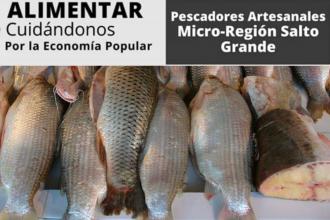 Para esta Semana Santa, red de pescadores se encargan de acercar sus productos a los hogares de Concordia