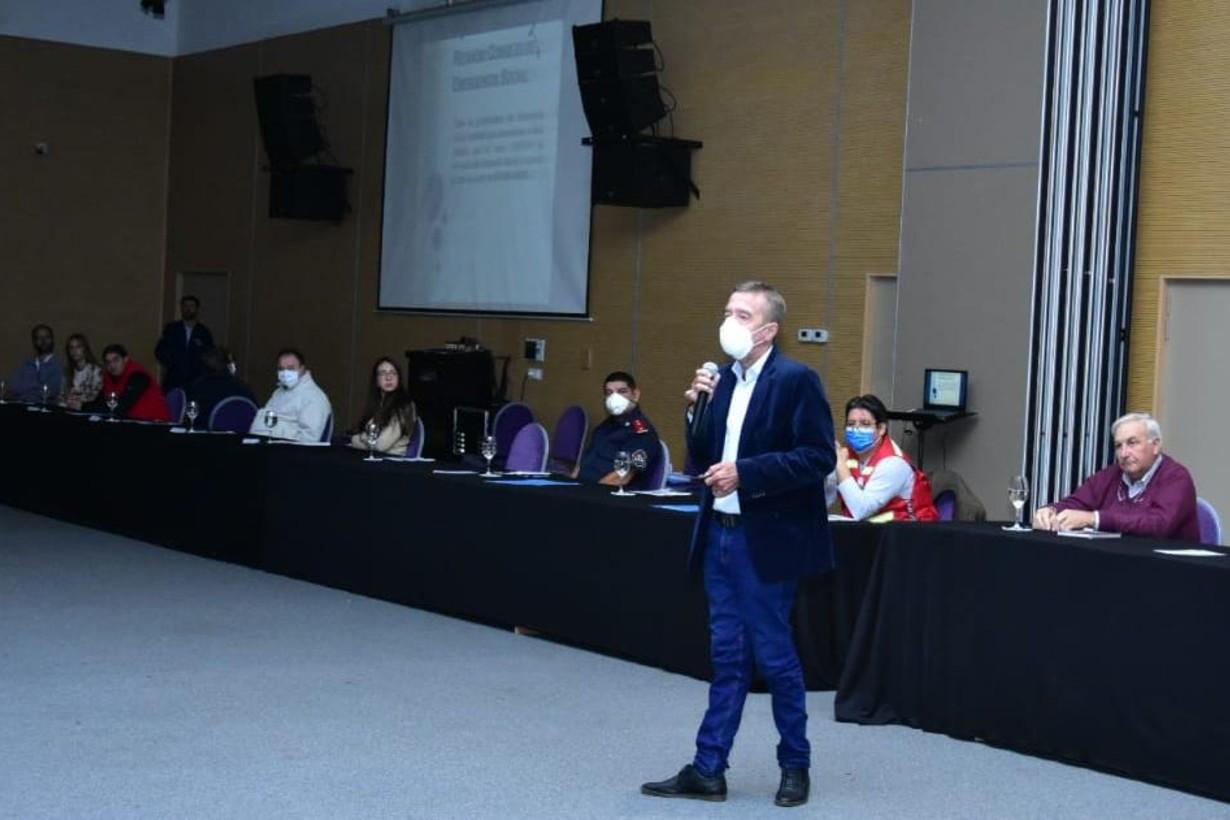 Amadeo Cresto, uno de los oradores esta mañana.