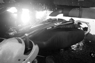 Motociclista herido de gravedad, tras chocar con un vehículo municipal