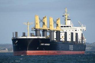 Luego de la polémica llegada del Kiwi Trader a Concepción del Uruguay, amarrará un nuevo ultramarino