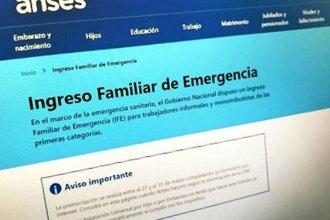 Un millón de personas validaron su CBU para cobrar el Ingreso Familiar de Emergencia