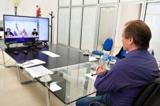 En videoconferencia con Fernández, Bordet planteó las actividades a habilitarse en la provincia