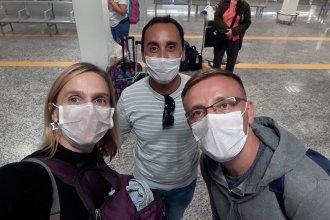 """""""Con la sensación de haber sido parte de una película"""", tres entrerrianos varados en México regresaron a sus casas"""