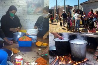 Invitan a colaborar con el merendero que cocinará locro para 80 familias