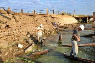 Tras dos días de retroceso, el río Uruguay subió casi 40 centímetros a la altura de Colón