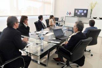 Buscan afianzar un acuerdo con un país árabe para financiar un puerto entrerriano