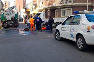 Un empleado municipal fue atropellado mientras trabajaba en la calle