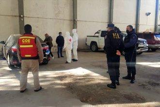 Viajaban desde Buenos Aires, levantaron las vallas e ingresaron por un acceso cerrado: Fueron demorados