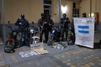 Operativo permitió sacar de circulación 200 dosis de cocaína en ciudad entrerriana