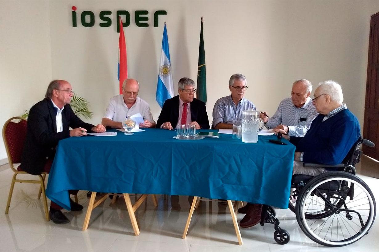 IOSPER y clínicas de Concordia, 1 año atrás