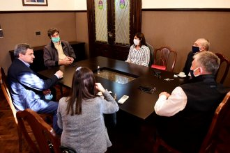 Abogados entrerrianos llevaron su reclamo ante el presidente de la Cámara de Diputados