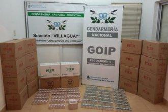 En un operativo de control, Gendarmería secuestró más de 5300 paquetes de cigarrillos