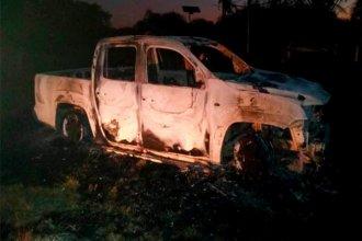 Su camioneta fue consumida por el fuego, hizo la denuncia y se llevó una sorpresa al conocer la causa del incendio