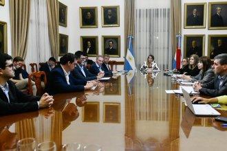 Stratta y ministros se reunieron con intendentes de Cambiemos, para coordinar acciones de contención sanitaria