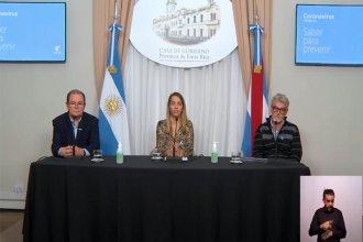 """A la espera de definiciones de Nación sobre la cuarentena, la vicegobernadora pide a los entrerrianos """"no retroceder"""""""