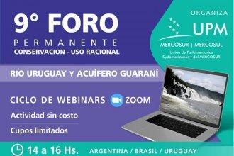 Lanzan innovador Foro por la conservación y el uso racional del río Uruguay y el Acuífero Guaraní