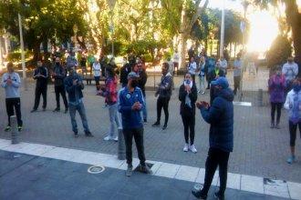 Frente a la municipalidad, propietarios de gimnasios y canchas de fútbol 5 pidieron volver a la actividad