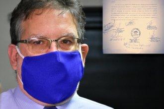 Carta para Francolini: piden que conforme un Comité de Crisis para hacer frente a los efectos de la pandemia