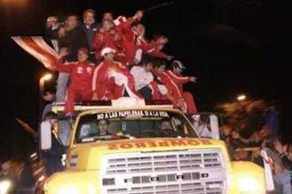 La tarde de la histórica Promoción entre dos clubes entrerrianos