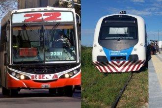 El transporte en Paraná: Van 18 días sin colectivos y se reactivará el tren a Colonia Avellaneda