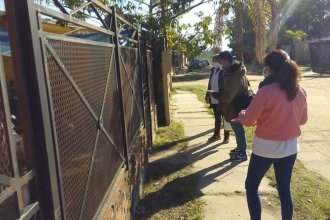 Realizan un bloqueo sanitario en un barrio de La Histórica por un posible caso de leptospirosis
