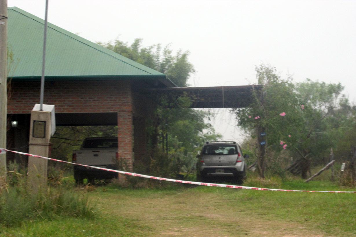 La casa de Viollaz, donde fue asesinado