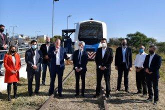 Junto al ministro de Transporte, Bordet reactivó el tren y anunció que ampliarán ramales a dos localidades