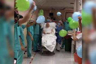 """A más de dos meses de ser internado por coronavirus, paciente entrerriano que estuvo """"muy delicado"""" recibió el alta"""