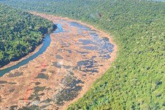 """La frontera es un colador: """"el río Uruguay está muy bajo y se puede cruzar casi caminando"""""""