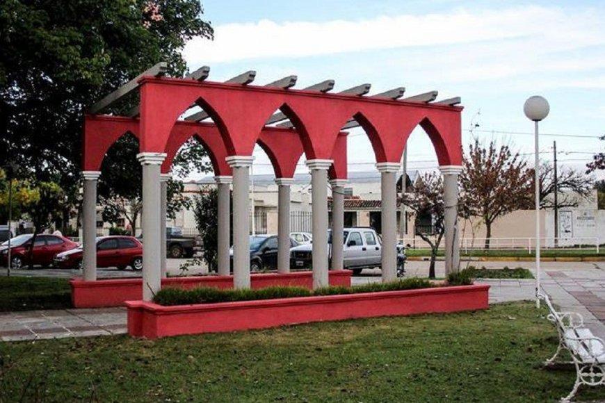 Plaza San Martín de Viale.