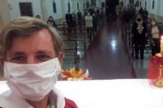 Con el visto bueno del intendente, volvieron las misas a 60 kilómetros de la capital