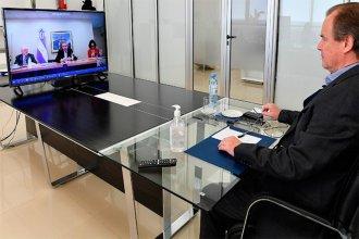 Bordet se reunió con Fernandéz para definir cómo será la nueva etapa de cuarentena en la provincia