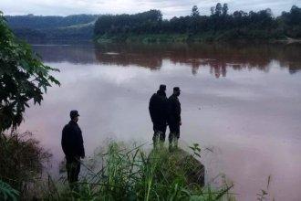 Fueron de pesca al río Uruguay, se dio vuelta la embarcación y desapareció un hombre