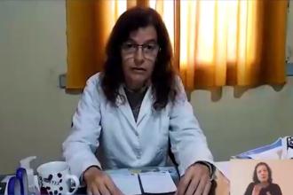 """""""Responsabilidad individual"""" y """"modificar algunos hábitos"""", entre los pedidos de la directora del hospital de Colón"""