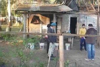 Explotación laboral: encontraron a trabajadores en condiciones deplorables en un campo de Concordia