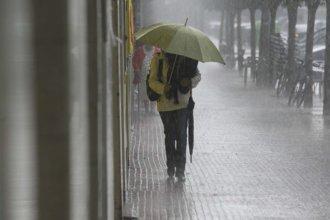 Advierten por lluvias y tormentas intensas que afectarían a parte de Entre Ríos