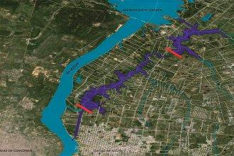 Río Uruguay: Fernández y Lacalle Pou acordaron trabajar para posibilitar la navegación al norte de Salto Grande