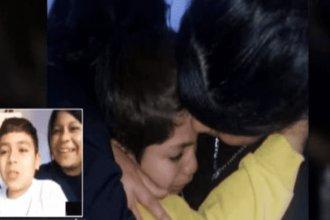 """Niño entrerriano se enteró por videollamada que venció al cáncer tras 7 años de lucha: """"Estoy re feliz"""""""