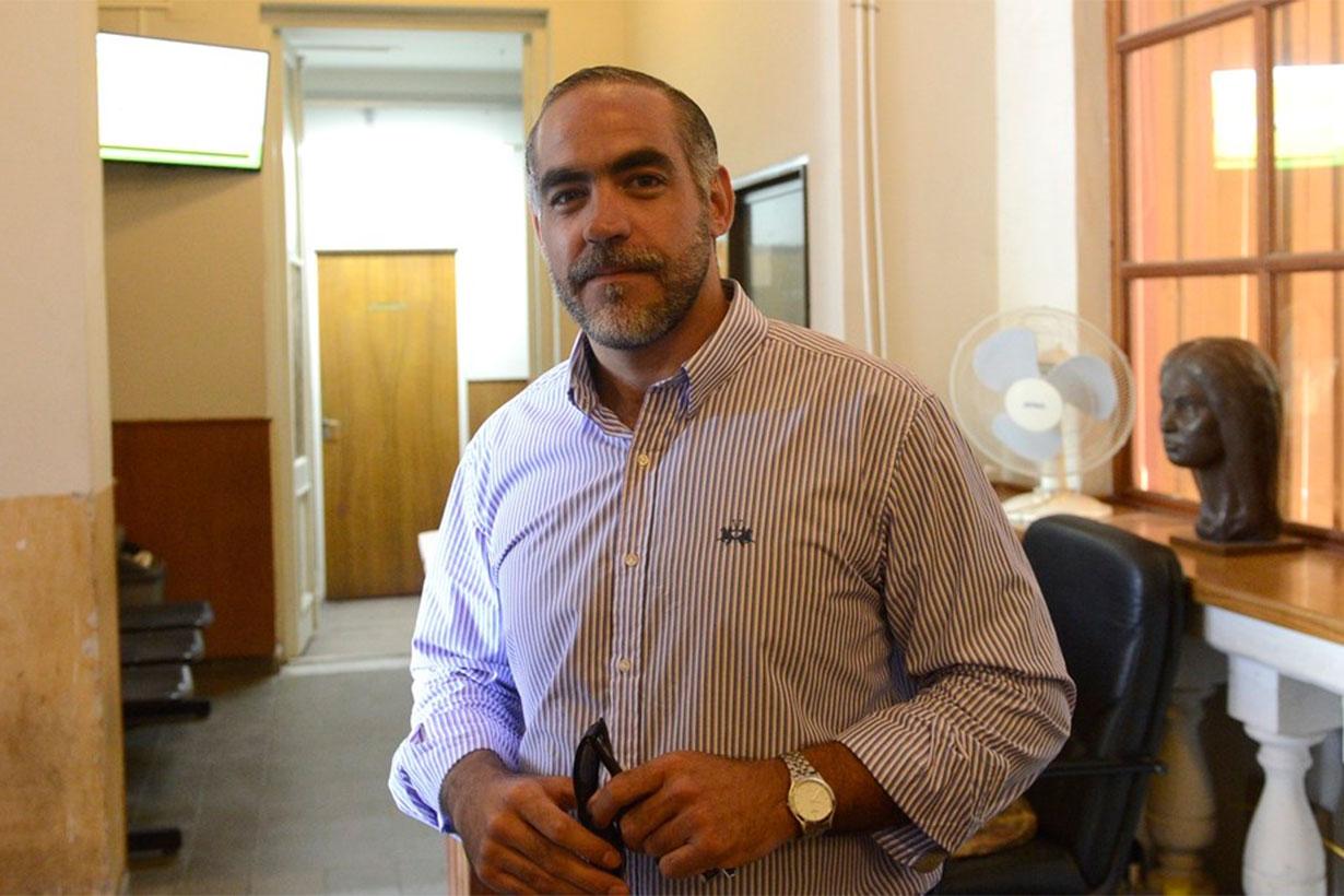 Doctor Mario Figueroa, juez de Garantías.