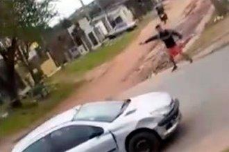 Encontraron armas y ropa de quienes habrían participado de un tiroteo en una avenida de Concordia