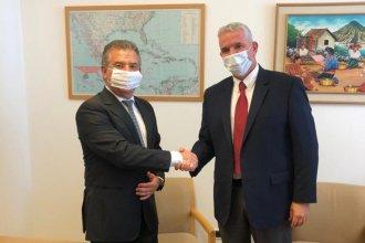 Urribarri concluyó el aislamiento y tuvo reuniones previas a ser recibido por el presidente de Israel