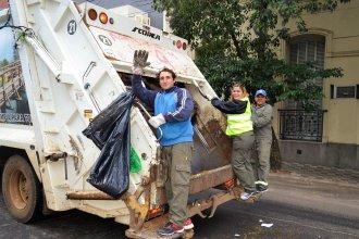 Vuelve la recolección de residuos a Concordia, tras huelga por la agresión a un trabajador