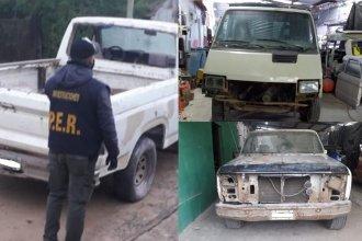Allanaron una radio y taller mecánico, donde dieron con dos vehículos oficiales de un municipio entrerriano